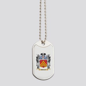 Hadley Coat of Arms - Family Crest Dog Tags