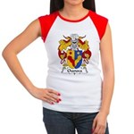 Chanoca Family Crest  Women's Cap Sleeve T-Shirt