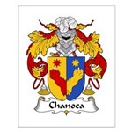 Chanoca Family Crest  Small Poster