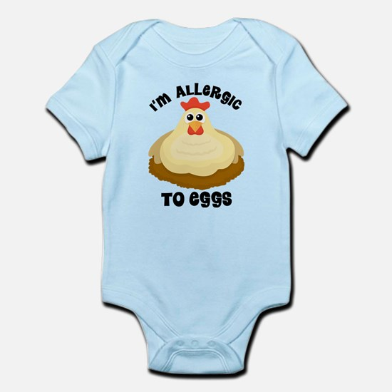 Allergic To Eggs Body Suit