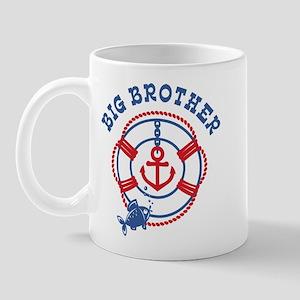 Nautical Big Brother Mug