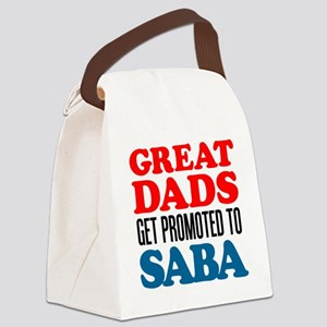 Promoted To Saba Drinkware Canvas Lunch Bag