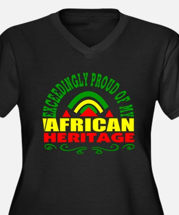 African American Plus Size T-Shirt
