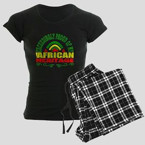 African American Women's Dark Pajamas