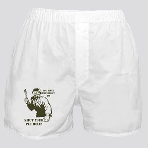 Pie hole Boxer Shorts