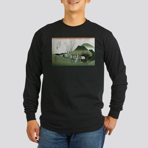 Famous Teahouse at Mariko by H Long Sleeve T-Shirt