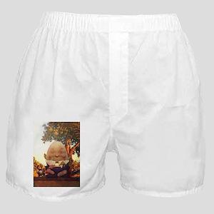 Humpty Dumpty in Wonderland Boxer Shorts