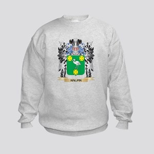Halpin Coat of Arms - Family Crest Kids Sweatshirt