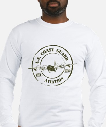 USCG Aviation (C-130) Long Sleeve T-Shirt