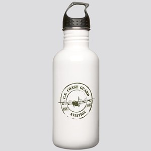 USCG Aviation (C-130) Stainless Water Bottle 1.0L