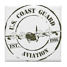 USCG Aviation (C-130) Tile Coaster