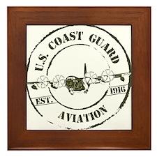 USCG Aviation (C-130) Framed Tile