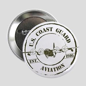 "USCG Aviation (C-130) 2.25"" Button"