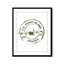 USCG Aviation (C-130) Framed Panel Print