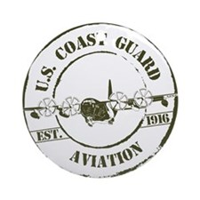 USCG Aviation (C-130) Ornament (Round)