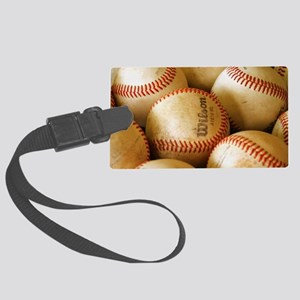 Baseball Balls Luggage Tag