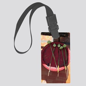 Temple Offering Large Luggage Tag
