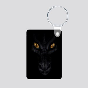 Dragon Lurking In The Dark Keychains