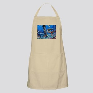 Mermaid And Her Daughter Swimming Apron