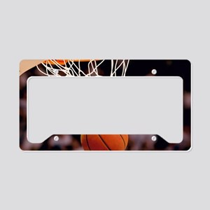 Basketball Scoring License Plate Holder