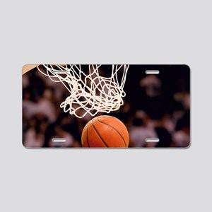 Basketball Scoring Aluminum License Plate