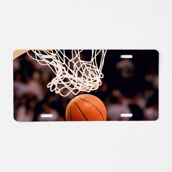 Basketball Scoring Aluminum License Plate