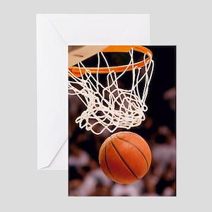 Sports greeting cards cafepress basketball scoring greeting cards m4hsunfo
