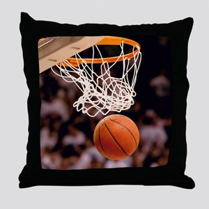 Basketball Scoring Throw Pillow