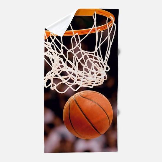 Basketball Scoring Beach Towel