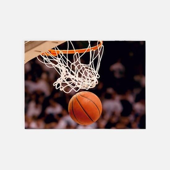Basketball Scoring 5'x7'Area Rug