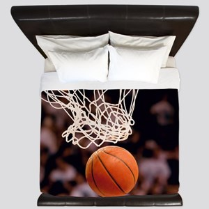Basketball Scoring King Duvet