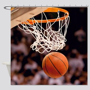 Basketball Scoring Shower Curtain
