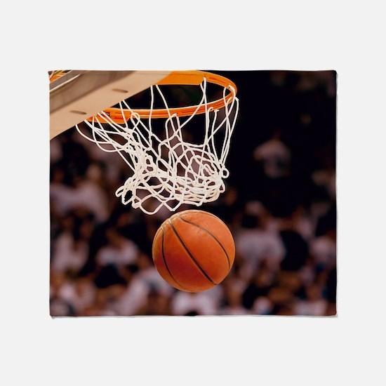 Basketball Scoring Throw Blanket