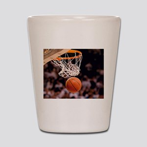 Basketball Scoring Shot Glass