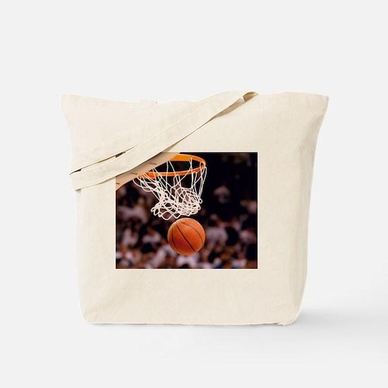 Basketball Scoring Tote Bag