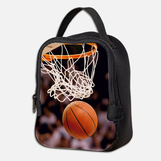 Basketball Scoring Neoprene Lunch Bag