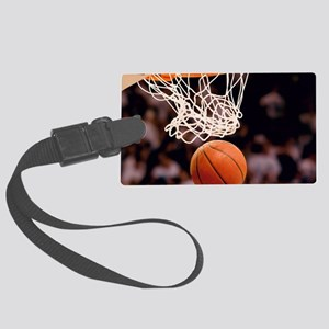 Basketball Scoring Luggage Tag