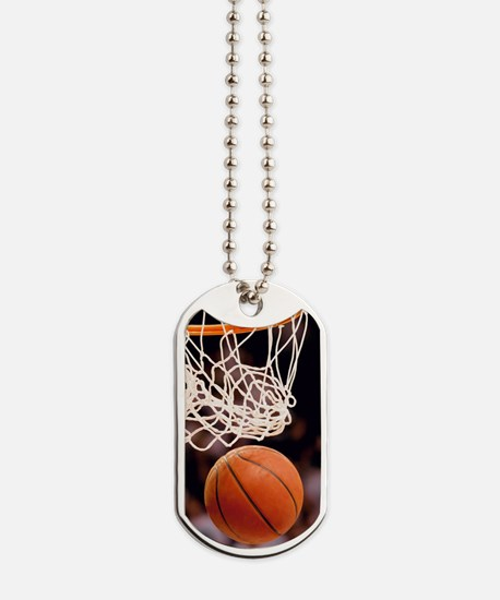 Basketball Scoring Dog Tags