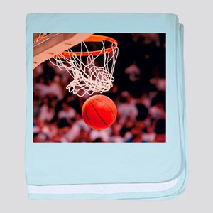 Basketball Scoring baby blanket