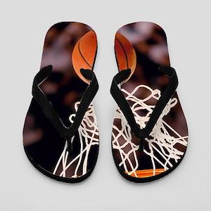 Basketball Scoring Flip Flops