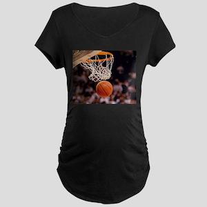 Basketball Scoring Maternity T-Shirt