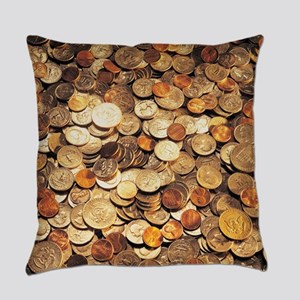 U.S. Coins Everyday Pillow