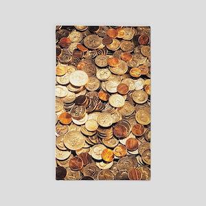 U.S. Coins Area Rug