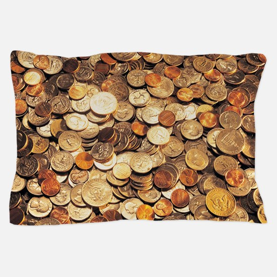 U.S. Coins Pillow Case
