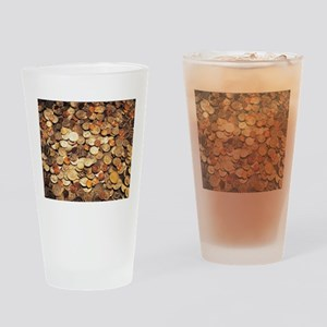U.S. Coins Drinking Glass