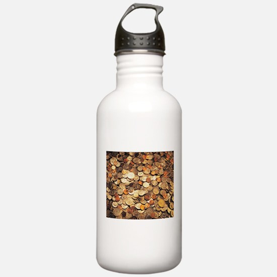 U.S. Coins Water Bottle