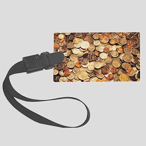 U.S. Coins Luggage Tag