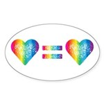 Love Equals Love Sticker