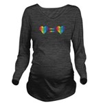 Love Equals Love Long Sleeve Maternity T-Shirt