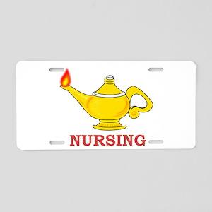 Nursing Lamp Aluminum License Plate